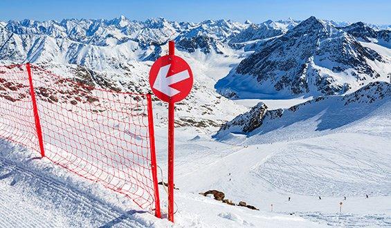 Изображение на знаци по ски писки