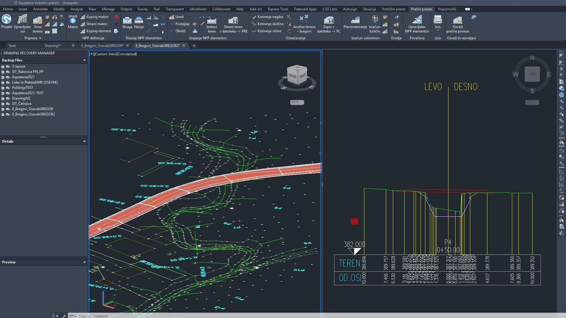 Aquaterra Bim Software For Canal Channel And River Works Design Cgs Labs